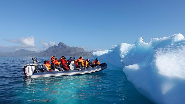 tající ledovec
