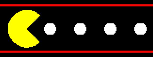 stará arkáda Pac-Man