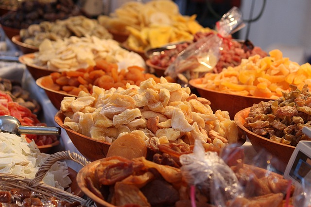 varieta sušeného ovoce